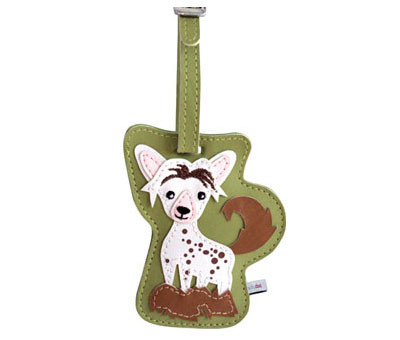 Dog Luggage Tag (Chinese Crested)