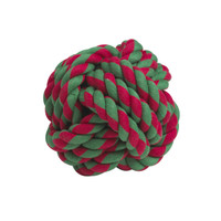 Holiday Rope Knots Dog Toys
