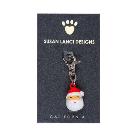 Susan Lanci Santa Bell Collar Charm
