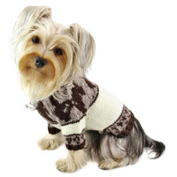 Dog Pattern Sweater