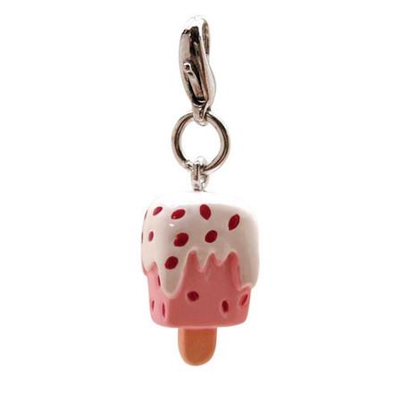 Strawberry Ice Cream Collar Charm