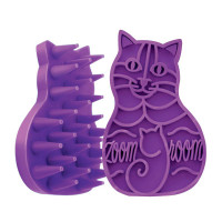 Zoom Groom Rubber Cat Brush