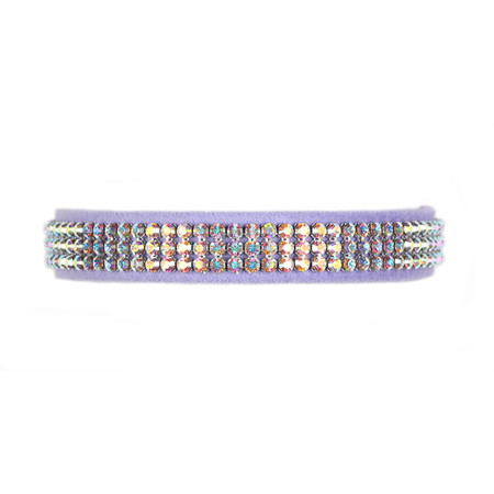 Susan Lanci Giltmore III Ultrasuede Collars (AB Crystals)