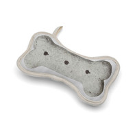 Recycled Canvas Biscuit Dog Toy