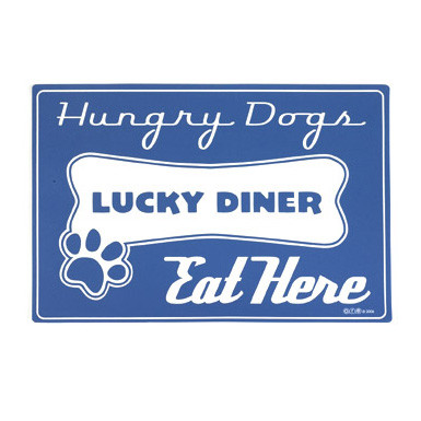Lucky Diner Foam Rubber Placemat