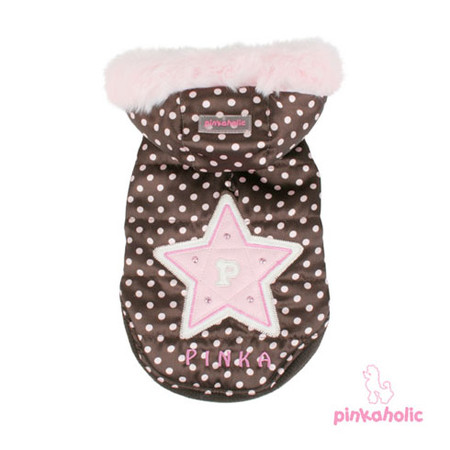 Pinkaholic Starlight Dog Coat