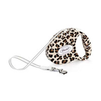 Flexi Fashion Series 'Leopard' Retractable Lead