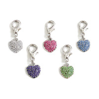 Puffy Heart D-Ring Charms