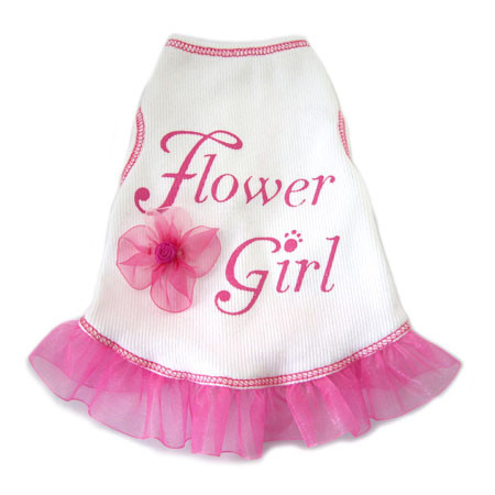 Flower Girl Tank Dress