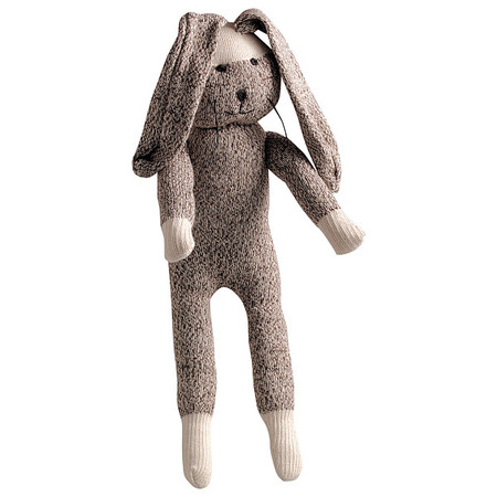 Sock Rabbit Dog Toy