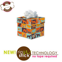 Pattern Silhouettes Gift Wrap