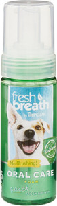 Tropiclean Fresh Breath Mint Dental Foam