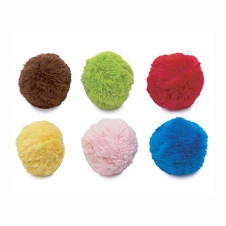 Plush Dog Ball Toy