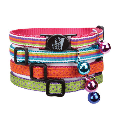 Nylon with Ribbon Cat Collars