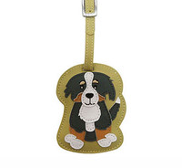 Dog Luggage Tag (Bernese Mountain Dog)