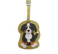 Dog Luggage Tag (Bernese Mountain Dog)