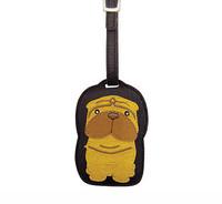 Dog Luggage Tag (Sharpei)