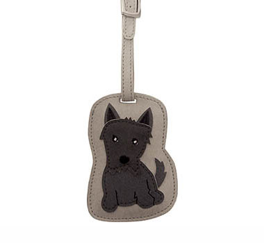 Dog Luggage Tag (Scottie)