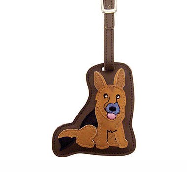 Dog Luggage Tag (German Shepherd)