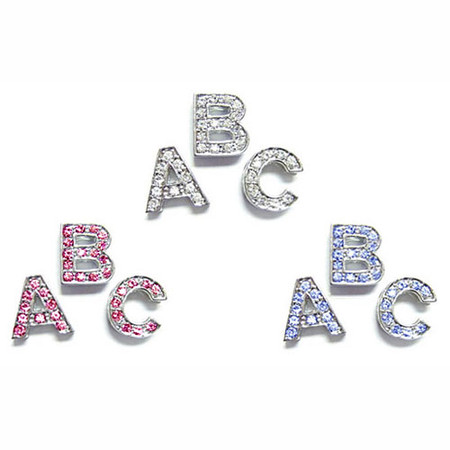 Crystal Letter Sliders