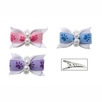 Pearly Paws Hair Bows