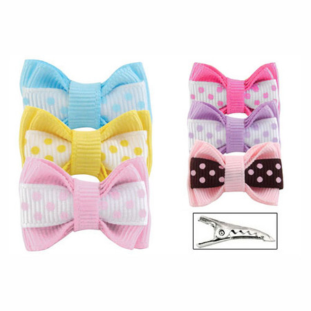 Preppy Polka Dot Bows