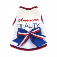 American Beauty Dog Tank Top