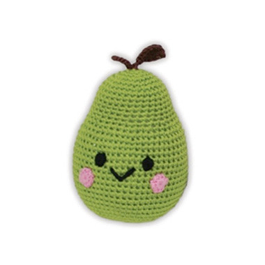 Bart the Pear Organic Dog Toy