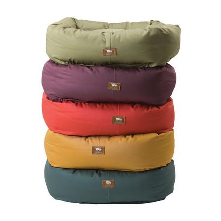 Organic Bumper Pet Bed