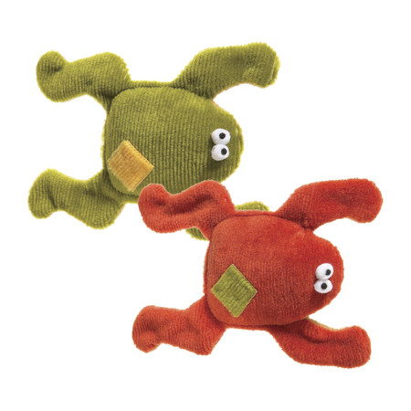 Floppy Frog Dog Toy