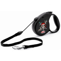 Flexi Rock Star Series 'Pirate' Retracable Lead