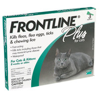 Frontline Plus Flea & Tick Treatment for Cats