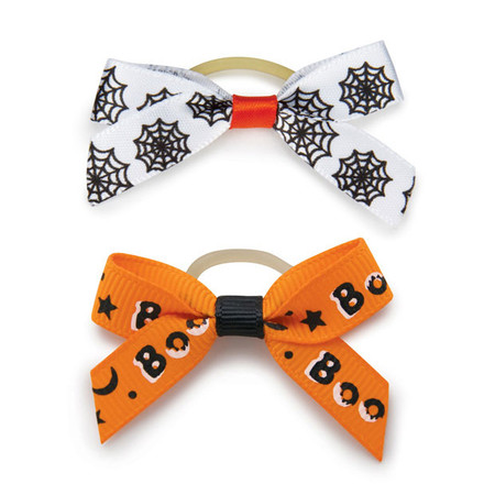 Midnight Magic Dog Bows