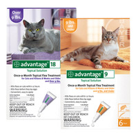 Advantage Flea Control Treatment for Cats