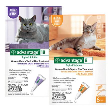 Advantage Flea Control Treatment for Cats