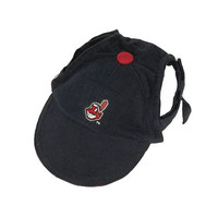 Cleveland Indians Dog Cap