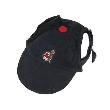 Cleveland Indians Dog Cap