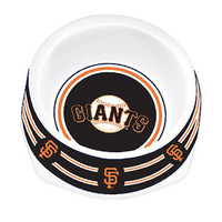 San Francisco Giants Dog Bowl