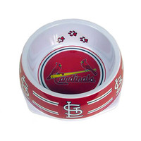 St. Louis Cardinals Dog Bowl