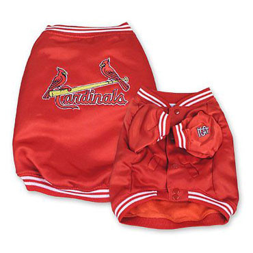 St. Louis Cardinals Dog Jacket