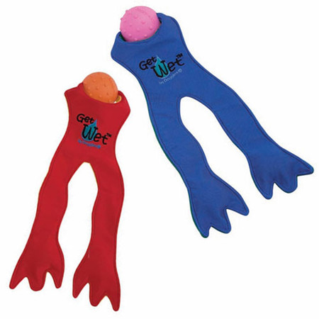 Get Wet Frogs Legs Dog Toy