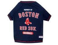 Boston Red Sox Dog T-Shirt