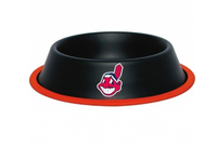 Cleveland Indians Stainless Steel Dog Bowl