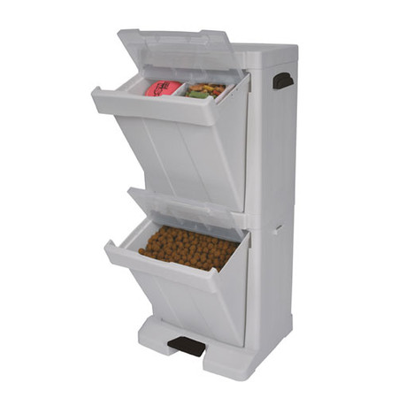 Pet Stuff Tower Food Storage Bin