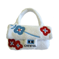 Bouquet de Chewnel Designer Purse Dog Toy