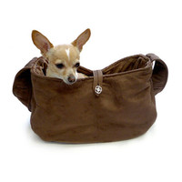 Ruff Ruff Couture Chocolate Snuggle Sack