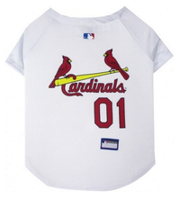 St. Louis Cardinals V-Neck Dog Jersey