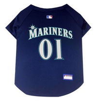 Seattle Mariners V-Neck Dog Jersey