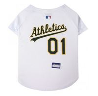 Oakland Athletics V-Neck Dog Jersey