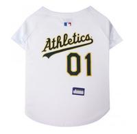 Oakland Athletics V-Neck Dog Jersey